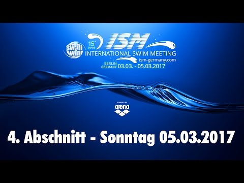 International Swim Meeting 2017 - 4. Abschnitt