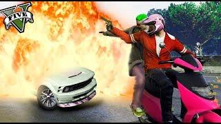 GTA LIFE - EL JEFE ELIMINA UNA BANDA RIVAL!! 🤣😂- Nexxuz