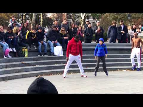 9-Year-Old Enlisted by Breakdancing Troupe