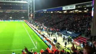 Blackburn vs Liverpool 2 - 3 - Carroll Goal and Celebration