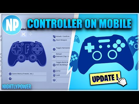 How To Connect Controller On IOS Android Mobile In Fortnite