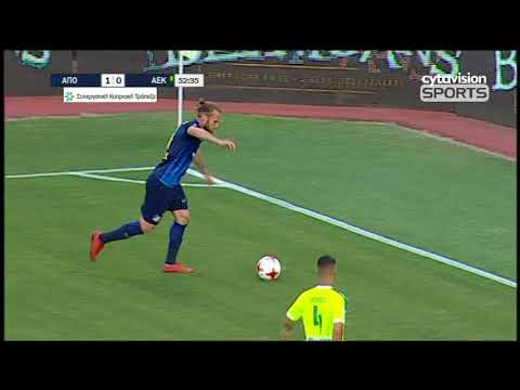 Video: ΑΠΟΕΛ 1-2 ΑΕΚ (1-4agg) κύπελλο