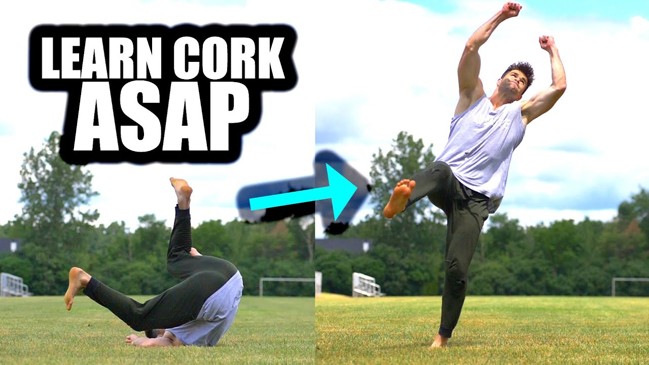Learn to do a Cork Fast – By Morphing a Simple Front Roll Into A Spin Twist