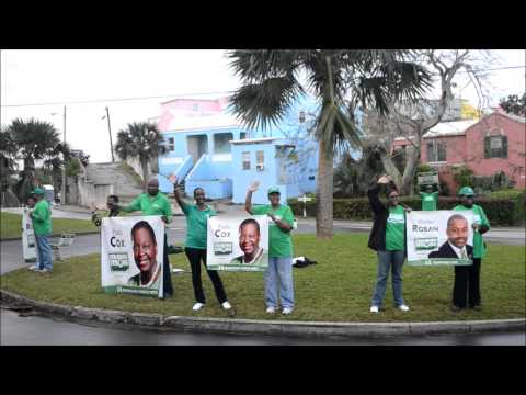 PLP Supporters Waving At Commuters Dec 14 2012