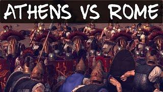 Total War Rome 2 Online Battle 108 Athens vs Rome