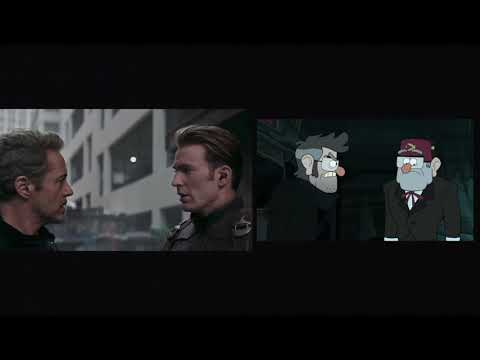 Avengers: Endgame I Special Look Trailer (Disney Channel/XD Parody) Side By Side Comparison