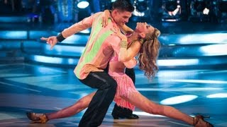 Abbey Clancy & Aljaz Cha Cha to 'Let's Get Loud' - Strictly Come Danicing 2013: Week 2 - BBC One
