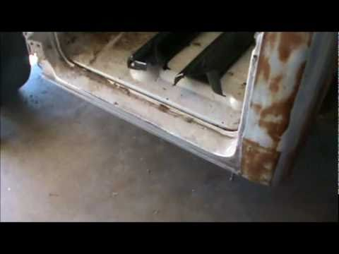 How To Do Rust Repair Part 1 1967 To 1972 Chevy Truck Rocker Panels Youtube