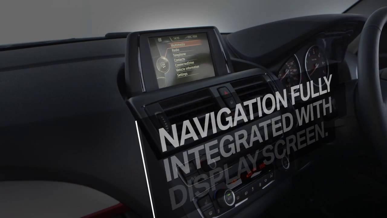 Bmw integrated navigation