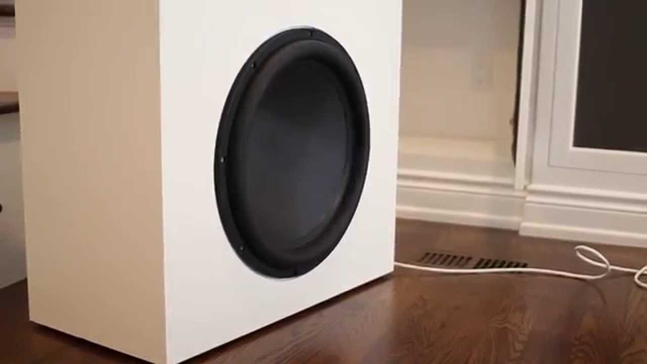 Build A Powered Home Subwoofer