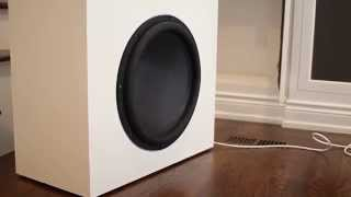 Ultimax 18 Subwoofer excursion - 60 FPS