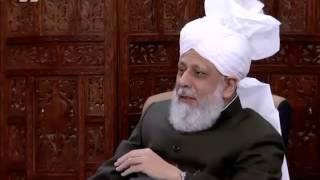 Le Calife de l'islam parle de l'athéisme  - Gulshan e waqf e naw Lajna 2014