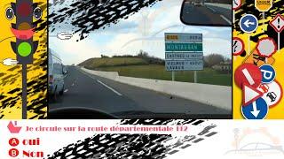 Examen code de la route France(6) Permis de conduire france 2017 HD Série 6