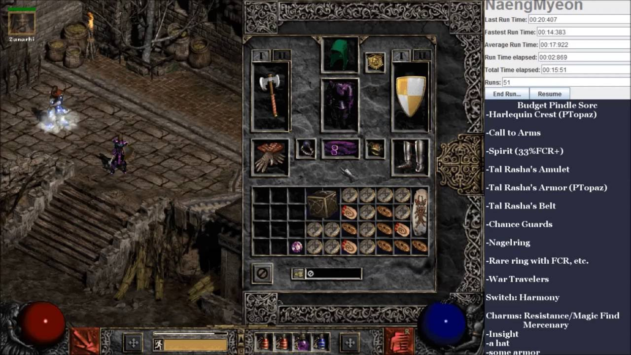 Diablo  Magic Find Sorc Build