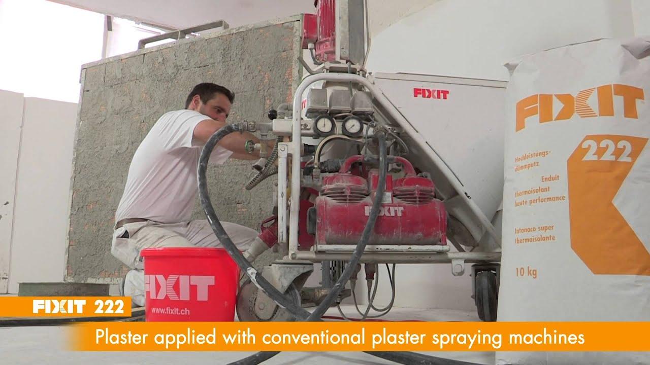 Fixit AG Fixit 222 Aerogel High performance insulating plaster