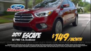 Best Lease prices on 2017 Escape, Fusion, Ford F150's are at Milnes Ford in Lapeer, MI