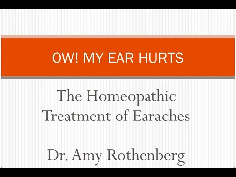 Successfully Treating Earaches with Homeopathy and other Natural Medicine