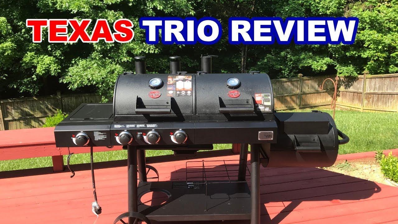 Char Griller Texas Trio Review