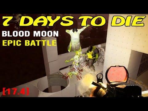 Тест дома ► 7 Days To Die Alpha17 ► Орда 63 ночь