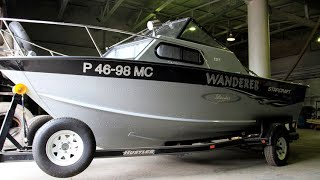 Обзор моей первой лодки Starcraft islander 191