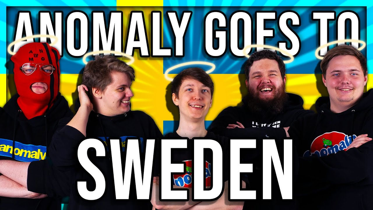 ANOMALY GOES TO SWEDEN (WITH FRIENDS)