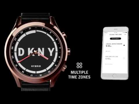 0d82bb77a253 Coming Soon  DKNY Minute Hybrid Smartwatch - YouTube