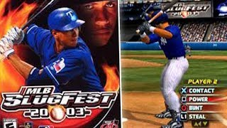 MLB SLUGFEST 2003 - THIS GAME IS AMAZING