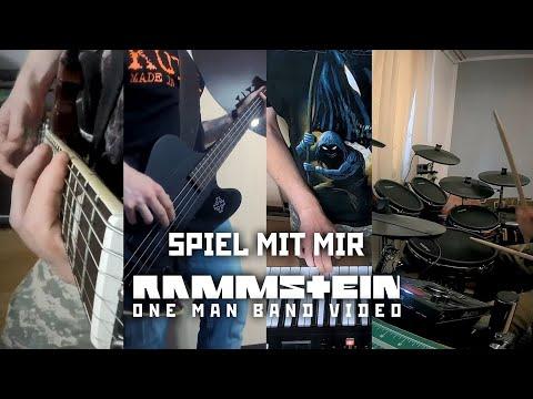 Rammstein - Spiel mit mir (one man band cover)
