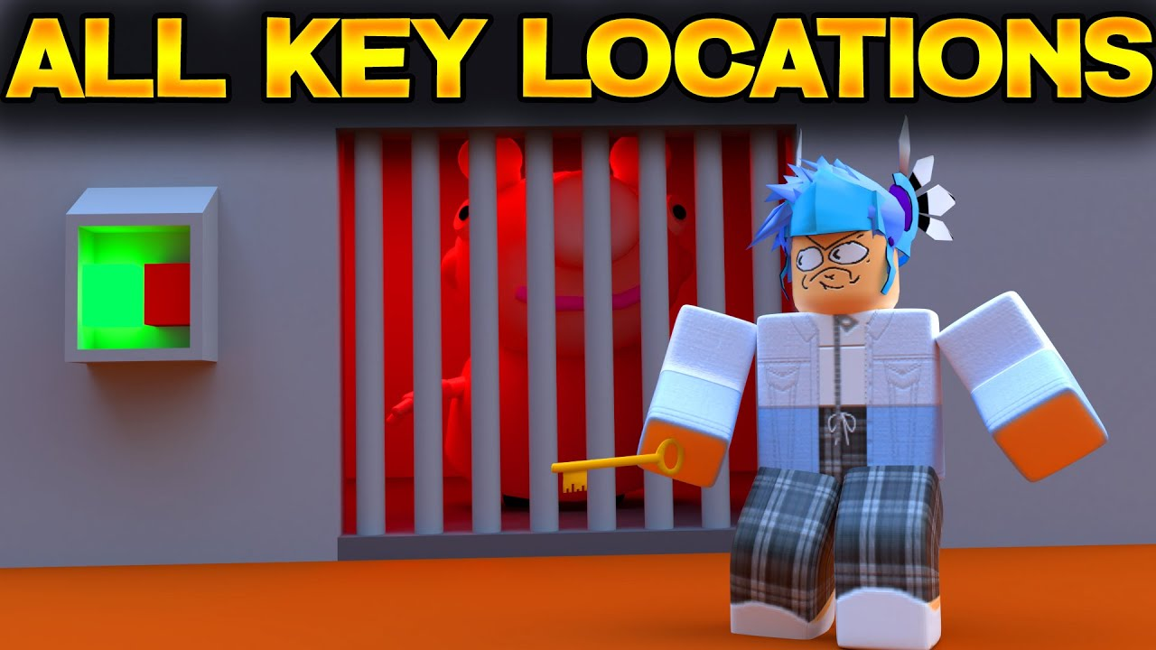 All Key Locations In Station Roblox Piggy By Denk0