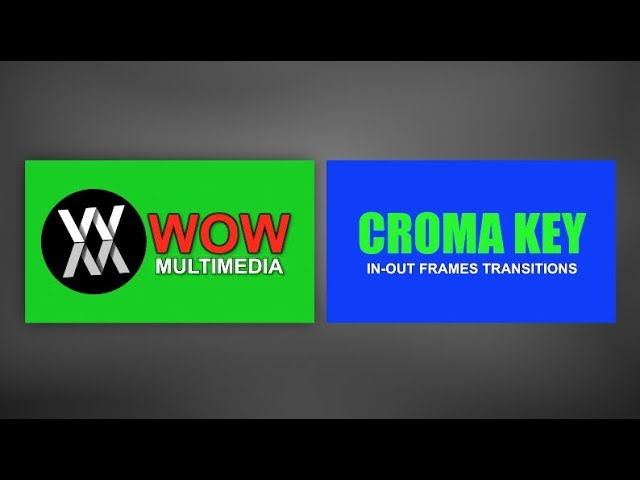 Chroma Key In-Out Frames Transitions