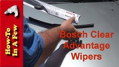 How To: Install Bosch Clear Advantage Wipers on Traverse, Acadia, Enclave