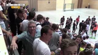 Handball B Jugend Finalspiel Nervenspiel in der Schlussphase