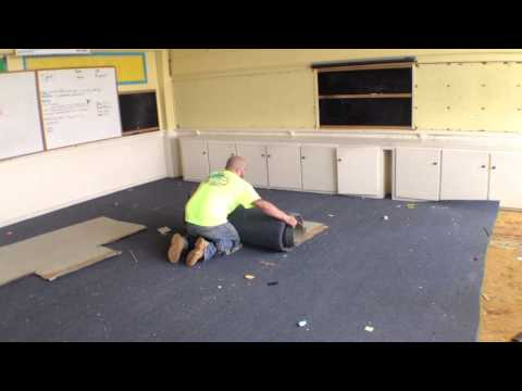 Raw Video: Clean Up of Beach Haven Elementary School