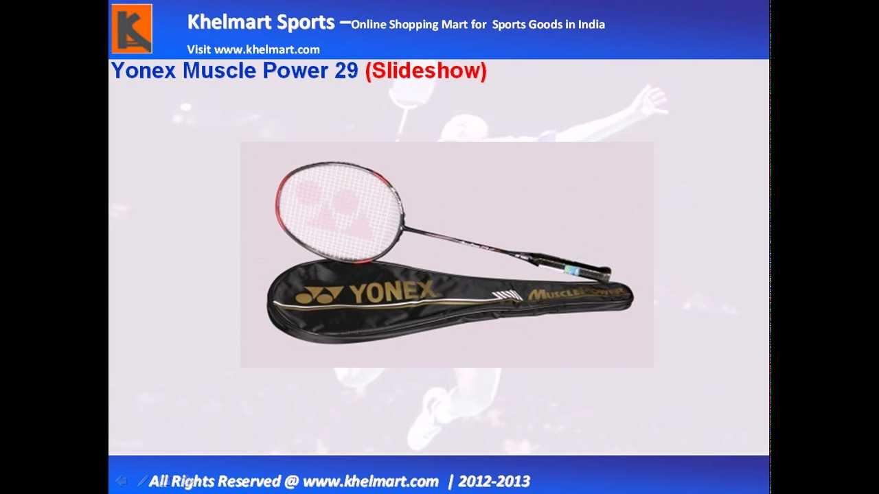 Yonex Muscle Power 29@khelmart - YouTube