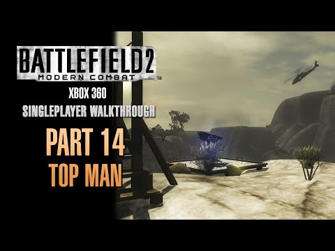 Battlefield 2: Modern Combat Walkthrough (Xbox 360) - Part 14 - Top Man