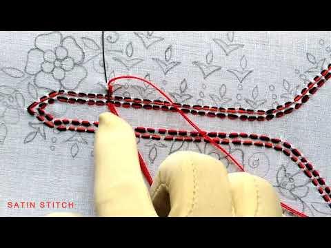 Beautiful kurti neck design stitching tutorial,Simple and easy neck design stitch