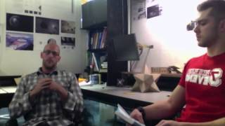 Zack Cox with Kenny Levick, Founder of Concept Visualization Design