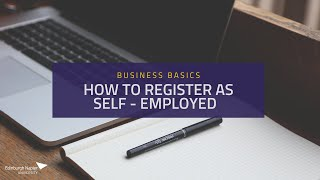 How to register aṡ Self Employed
