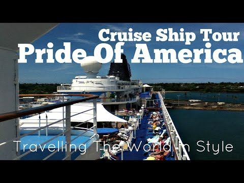 Cruise Ship Tour/Review - Pride Of America