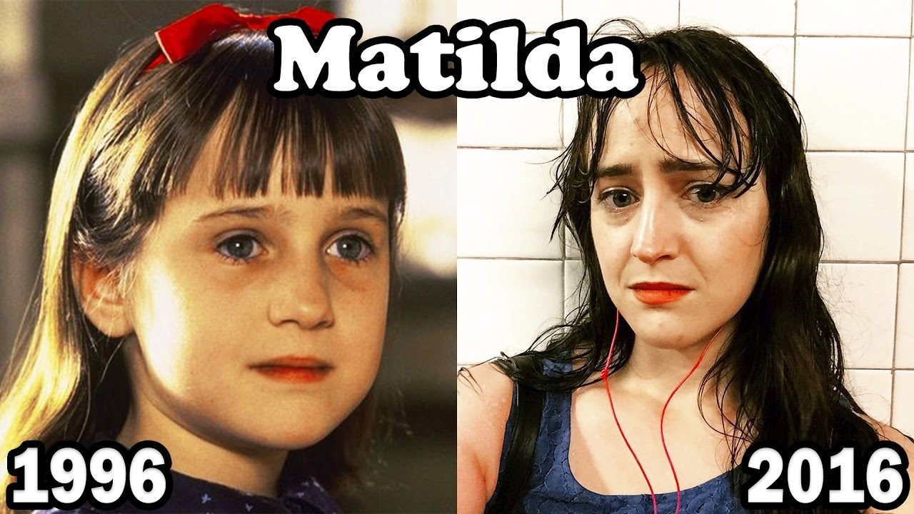 Matilda Then and Now 2016 | Matilda Antes y Después 2016 ...