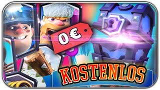KOSTENLOSE SUPER MAGICAL CHEST OPENING + FREE KAMPFHOLZ   Clash Royale Let's Play   Deutsch German