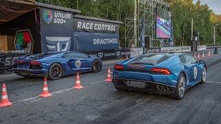 Lamborghini Aventador (Stock) Vs Lamborghini Huracan (Stock)