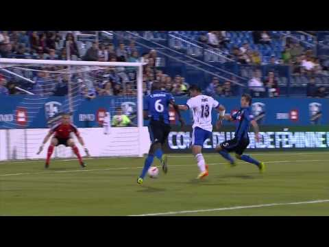 Match Highlights: Impact de Montréal 4:2 (Agg: 5:4) Edmonton FC