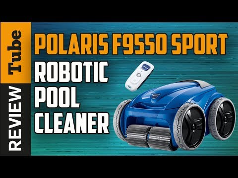 Polaris F9550 Sport Robotic Pool Cleaner - clean your swimming pool and keep a clean pool all year