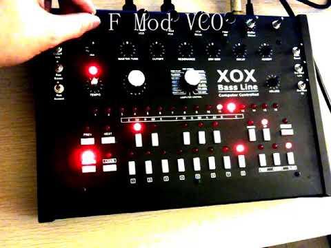 x0xb0x xoxbox F Mod VCO tb-303 clone