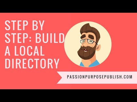 Step by Step Instructions for Building a Profitable Local Business Directory