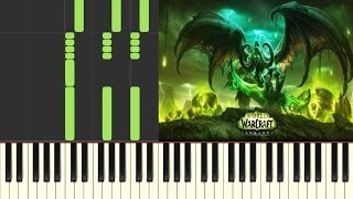 Anduin - World of Warcraft: Legion  Piano Cover