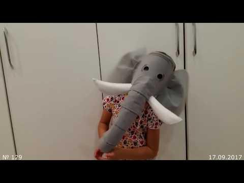 Как сделать маску слона из бумаги своими руками на голову