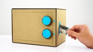 Amazing How to Make Safe with Combination Lock from Cardboard