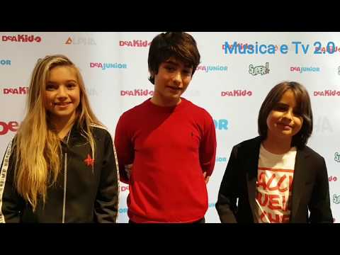 NEW SCHOOL la seconda stagione su DeAKids, i protagonisti (Intervista) ,  YouTube